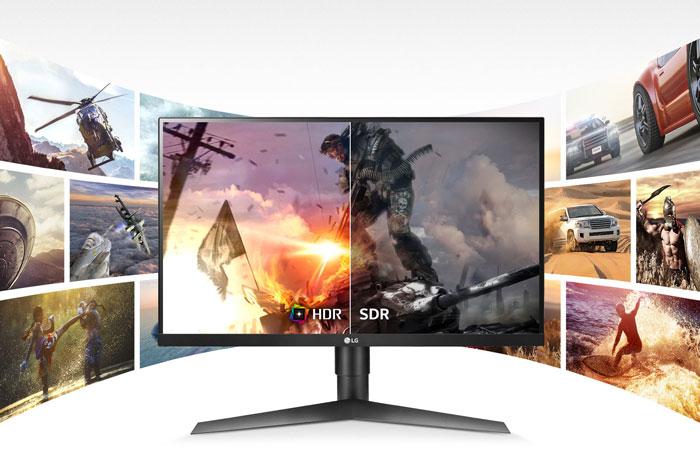 màn hình lg 27gl650f-b hdr10 gaming