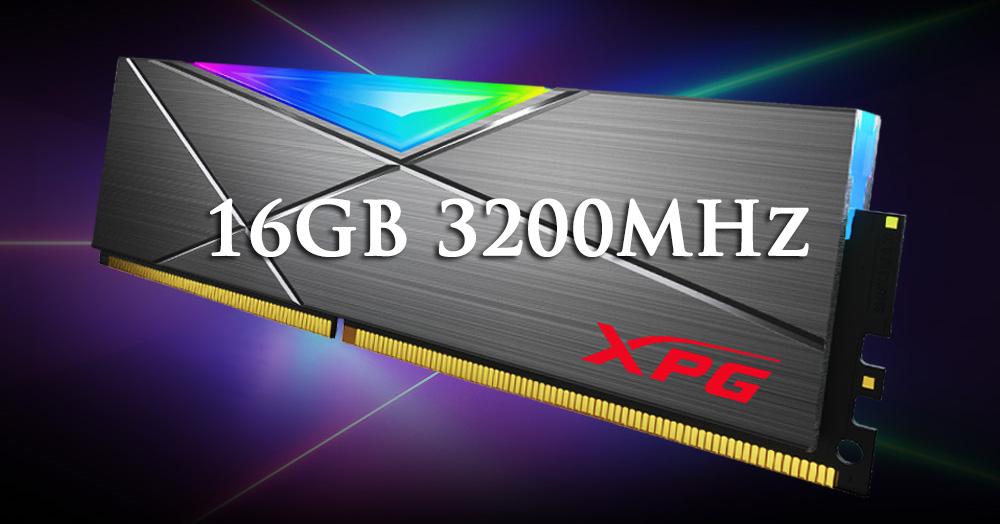 RAM ddr4 16gb xpg black pqt
