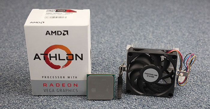 pc gaming amd athlon 200ge
