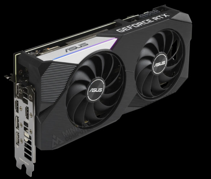 card asus geforce rtx 3000 series dual