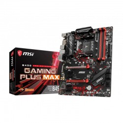 Mainboard MSI B450 GAMING PLUS MAX (AMD B450, Socket AM4, m-ATX, 4 khe RAM DDR4)