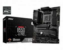 Mainboard MSI B550-A PRO (AMD B550, Socket AM4, ATX, 4 khe RAM DRR4)